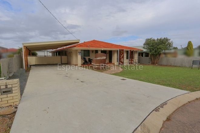 Picture of 8 Butler Street, CASTLETOWN WA 6450
