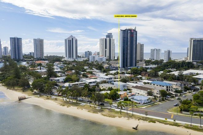 Picture of 13 River Drive, SURFERS PARADISE QLD 4217