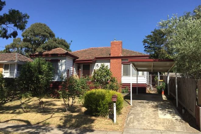 Picture of 2 Percy Street, MITCHAM VIC 3132