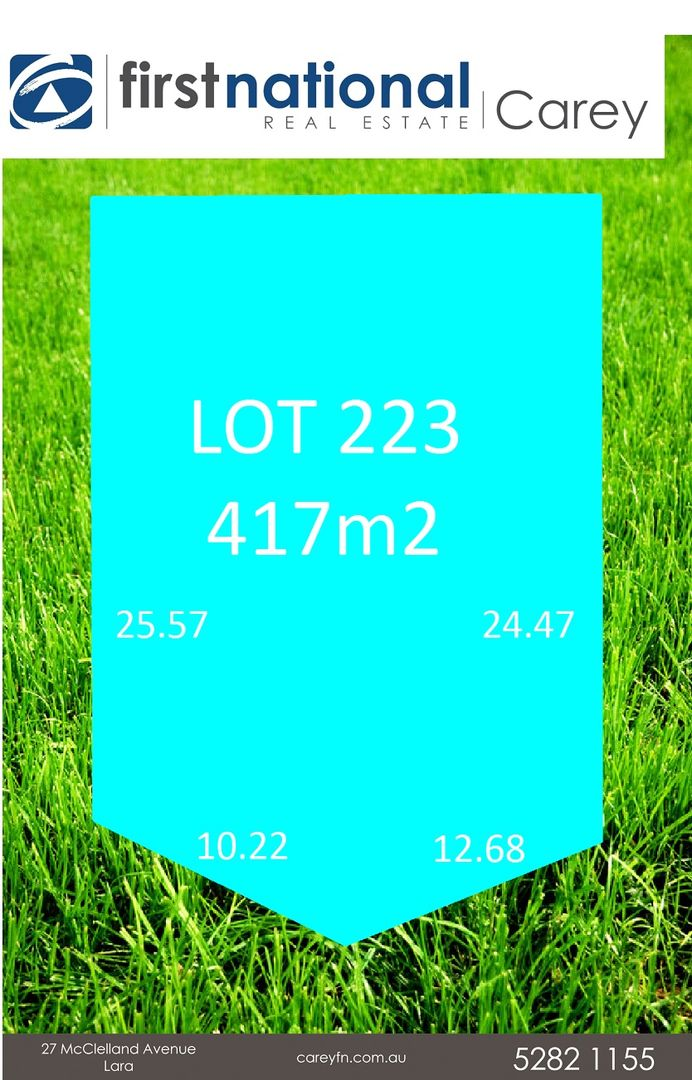 Lot 223/3 Expedition Way, Corio VIC 3214, Image 0