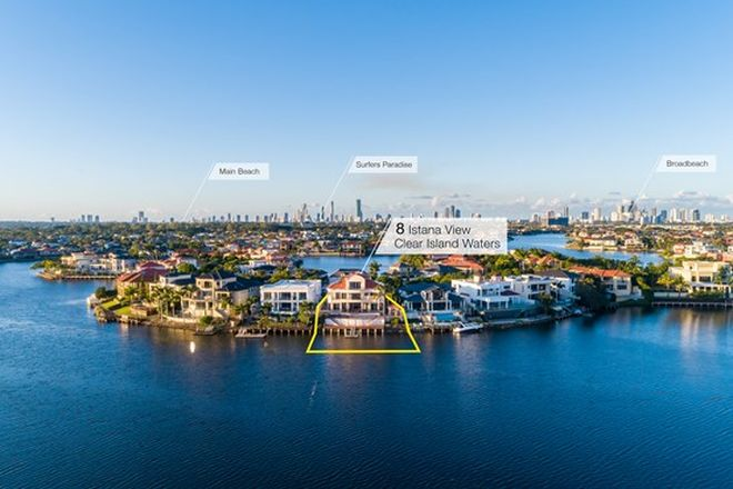 Picture of 8 Istana View, CLEAR ISLAND WATERS QLD 4226