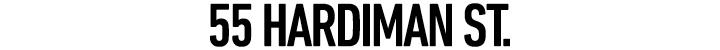 Branding for 55 Hardiman