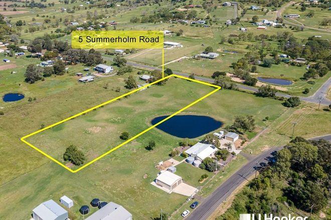 Picture of 5 Summerholm Rd, SUMMERHOLM QLD 4341