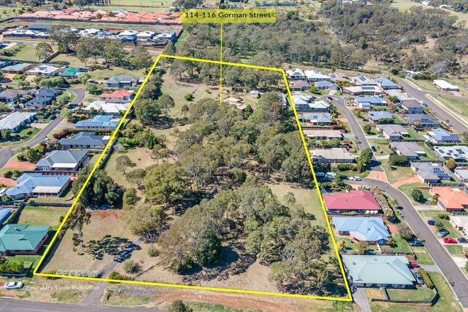 Picture of 114-122 Gorman Street, DARLING HEIGHTS QLD 4350