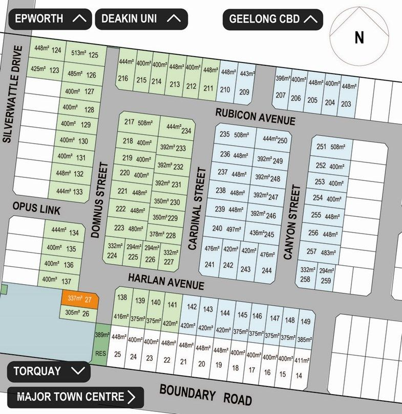 Lot 27 Orin Place, Mount Duneed VIC 3217, Image 0