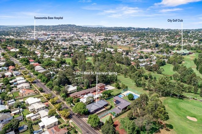 Picture of 1/214 West Street, SOUTH TOOWOOMBA QLD 4350