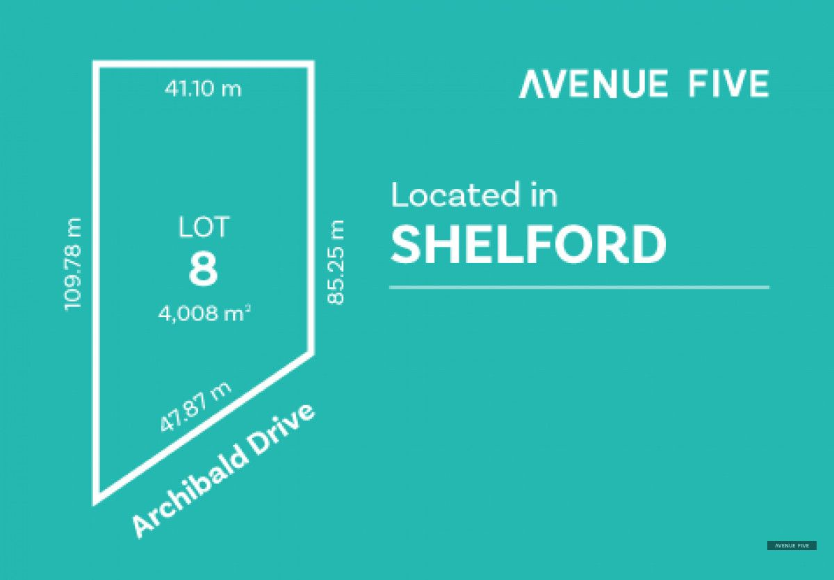 Lot 8 Archibold Drive, Shelford VIC 3329, Image 0