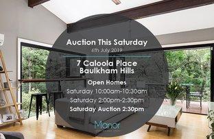 Picture of 7 Caloola Place, Baulkham Hills NSW 2153