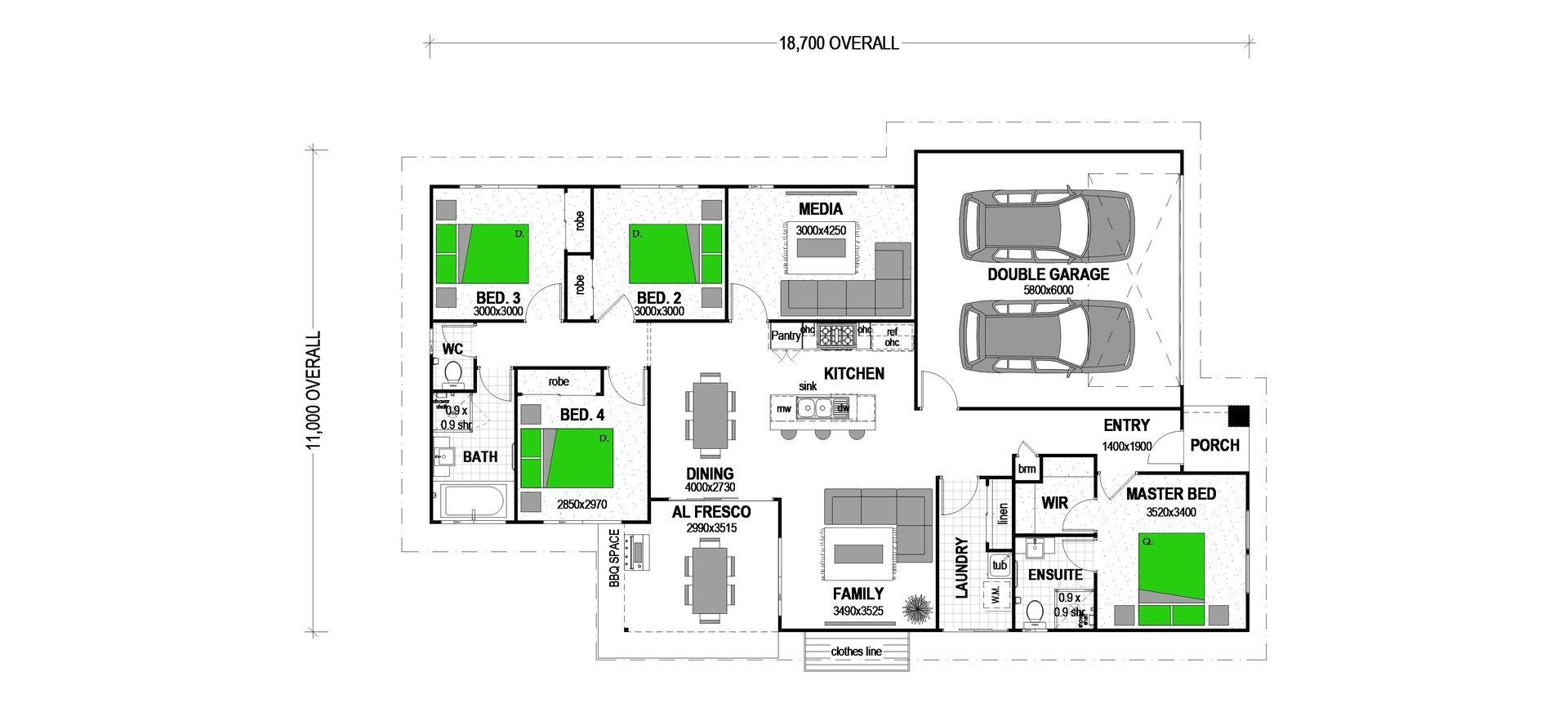 """Lot 21 Lonhro St """"SPRING CREEK ESTATE"""", Beaudesert QLD 4285, Image 1"""