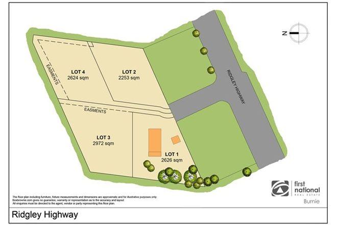 Picture of Lot 3 / 870 Ridgley Highway, RIDGLEY TAS 7321