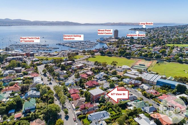 Picture of 6/7 View Street, SANDY BAY TAS 7005