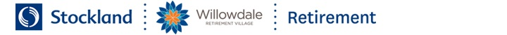 Branding for Willowdale Retirement Village