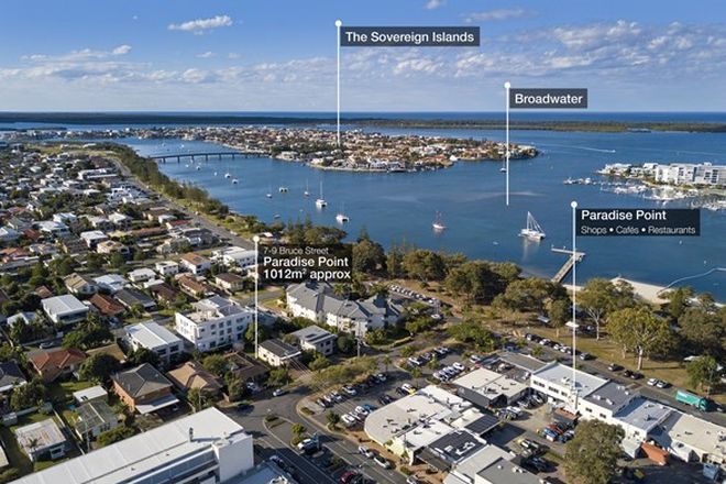 Picture of 7 & 9 Bruce Avenue, PARADISE POINT QLD 4216