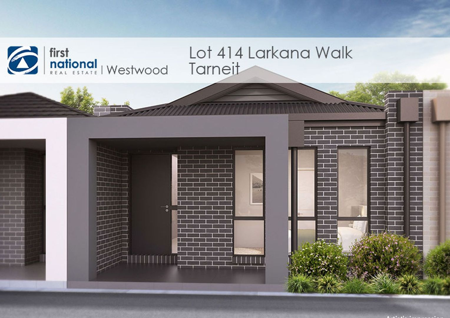 Lot 414 Larkana Walk, Tarneit VIC 3029, Image 1