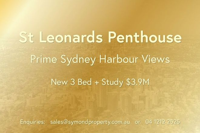 Picture of ST LEONARDS NSW 2065