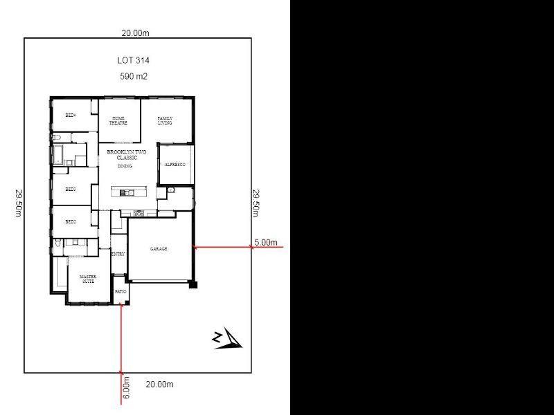 Lot 314 Woopi Beach Estate, Woolgoolga NSW 2456, Image 1