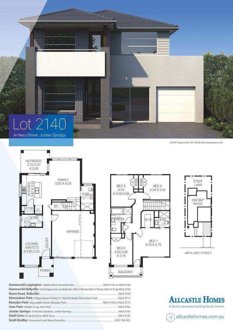 Lot 2140 (10) Artillery Street, Jordan Springs NSW 2747, Image 1