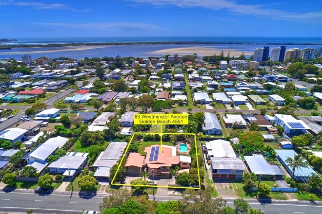 Picture of 83 Westminster Avenue, GOLDEN BEACH QLD 4551