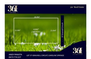 Picture of Lot 37 Gravnell Circuit, Caroline Springs VIC 3023