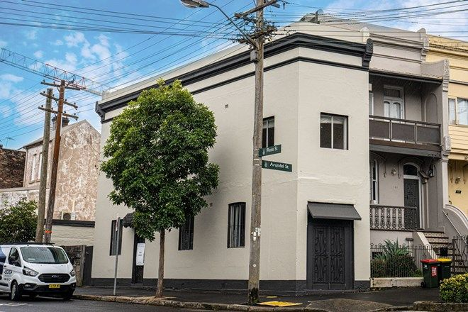 Picture of 135A Arundel Street, GLEBE NSW 2037