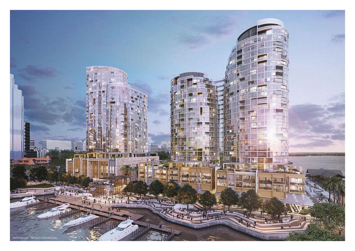 10/2403 The Towers Elizabeth Quay Barrack Street, Perth WA 6000, Image 0