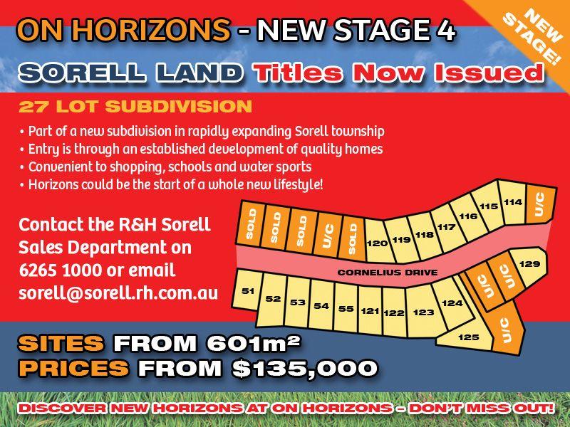 Lot 120 'On Horizons', Cornelius Drive, Sorell TAS 7172, Image 0