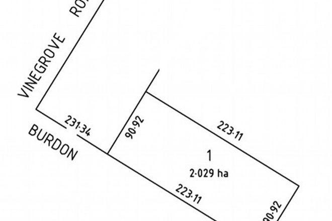 Picture of Lot 1 Burdon Road (Moppa), NURIOOTPA SA 5355