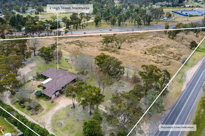 Picture of 2 High Street, STANTHORPE QLD 4380