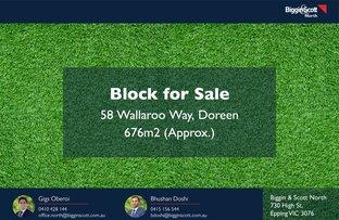 Picture of 58 Wallaroo Way, Doreen VIC 3754