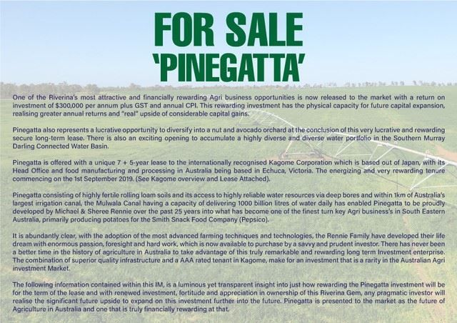 """Pinegatta"" Avalon Rd, Deniliquin NSW 2710, Image 1"