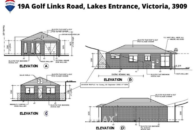 Picture of 19A Golf Links Road, LAKES ENTRANCE VIC 3909