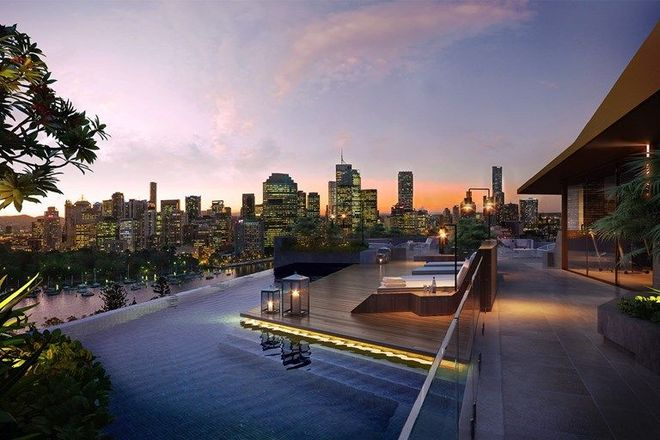 Picture of 808/25 Shafston Avenue, KANGAROO POINT QLD 4169