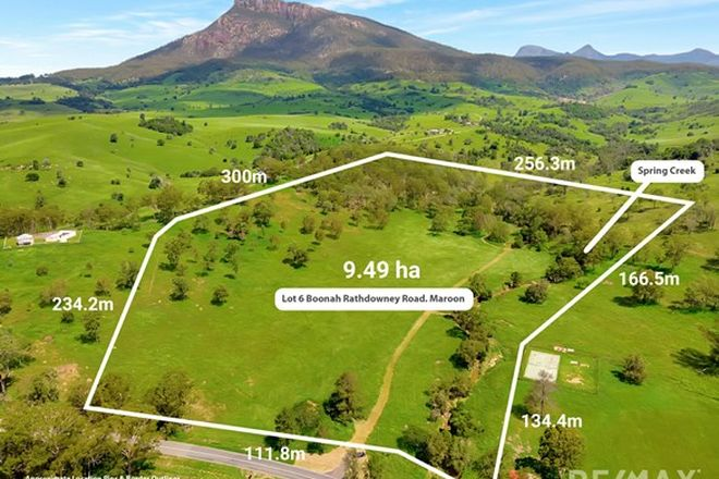 Picture of Lot 6 Boonah Rathdowney Rd, MAROON QLD 4310