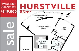 Picture of 43/323 Forest Road, Hurstville NSW 2220