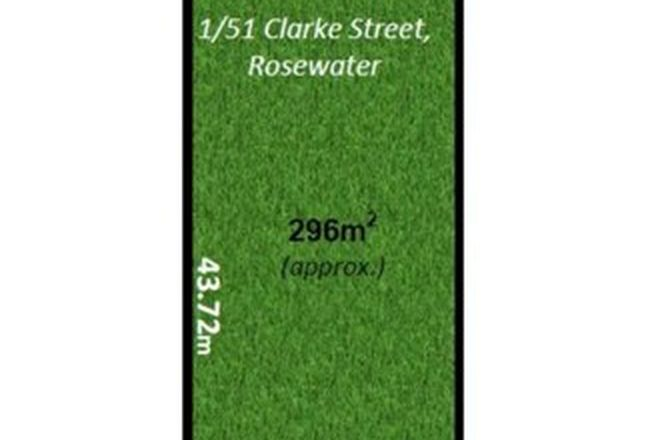Picture of Allotment 1/51 Clarke Street, ROSEWATER SA 5013