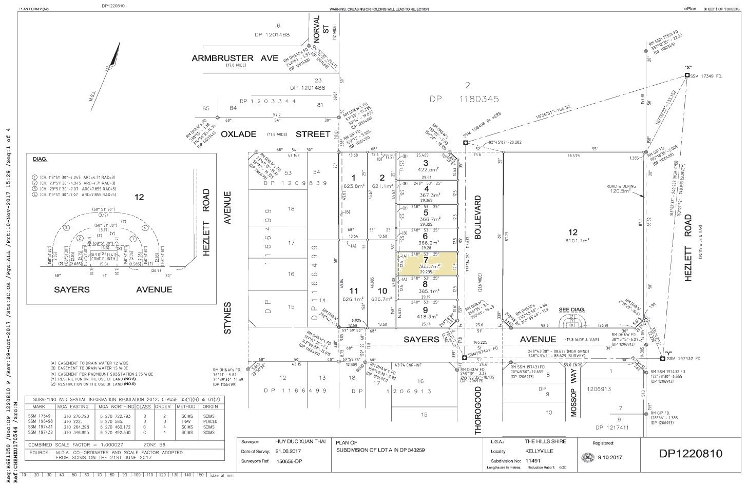 Lot 7 Thorogood Boulevarde, Kellyville NSW 2155, Image 2