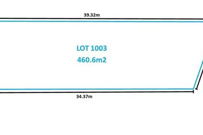 Picture of Lot 1003 Boundary Road, BOX HILL NSW 2765