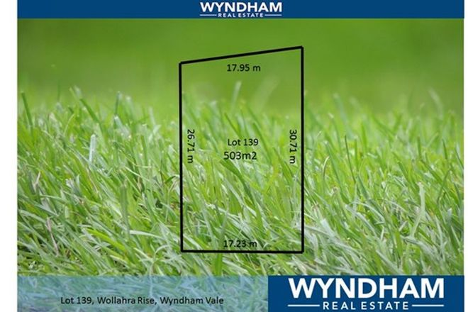 Picture of Lot 139 Wollahra Rise, WYNDHAM VALE VIC 3024