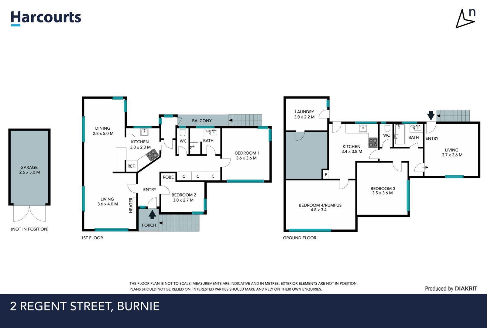2 Regent Street, Burnie TAS 7320, Image 1