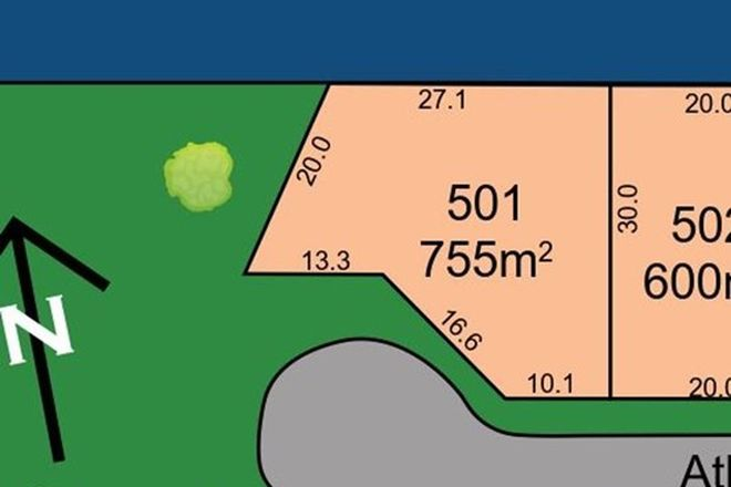 Picture of Lot 501 Atlantic Court, ELI WATERS QLD 4655