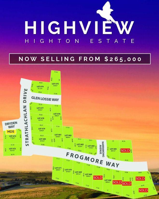 Lot 669 Frogmore Way, Highton VIC 3216, Image 1
