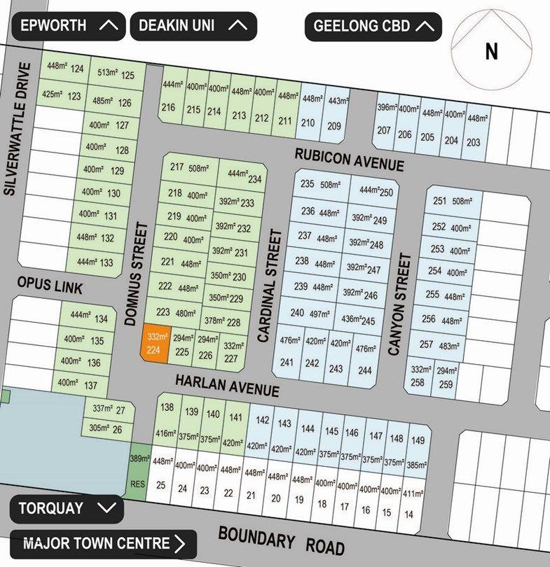 Lot 224 Harlan Avenue, Mount Duneed VIC 3217, Image 0