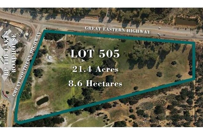 Picture of Lot 505, Great Eastern Highway, THE LAKES WA 6556