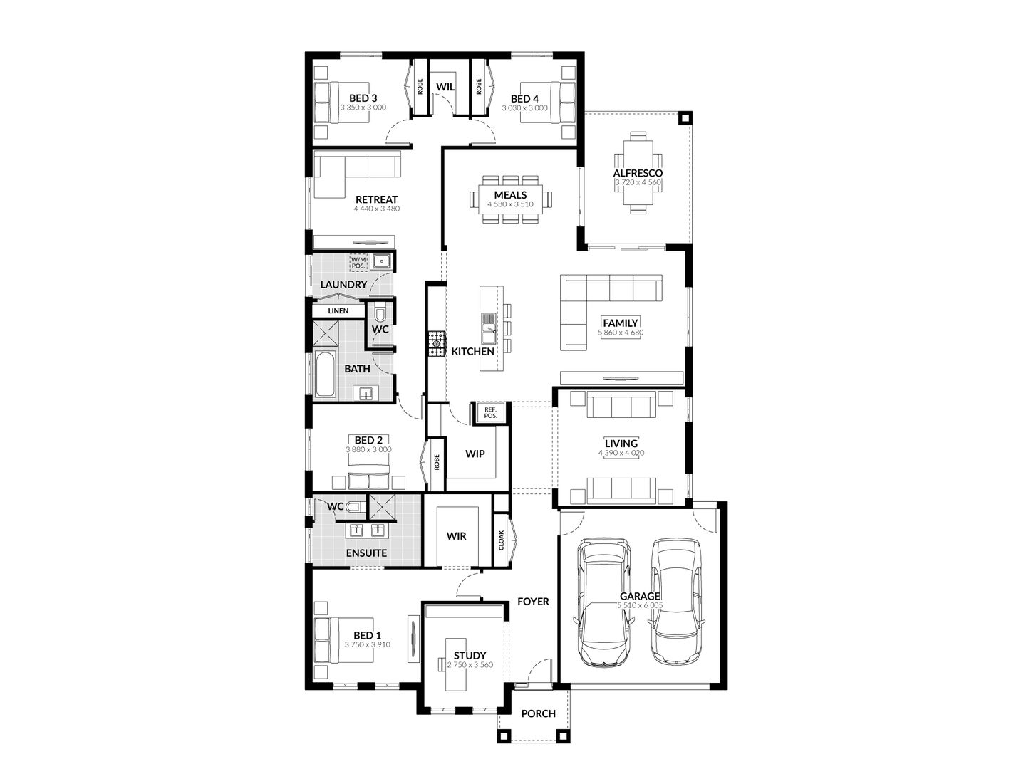 Lot 68 Wooleen Court, Huntly VIC 3551, Image 1