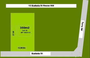 12 Barbola Street, Rouse Hill NSW 2155