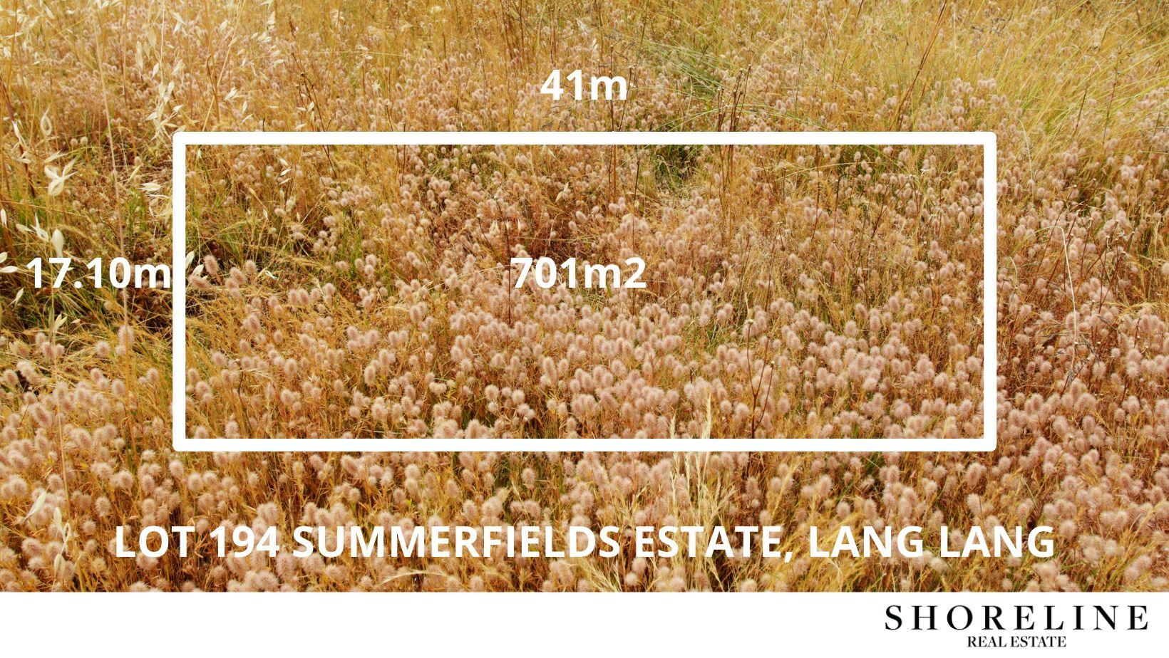 Lot 194 Summerfields Estate, Lang Lang VIC 3984, Image 1