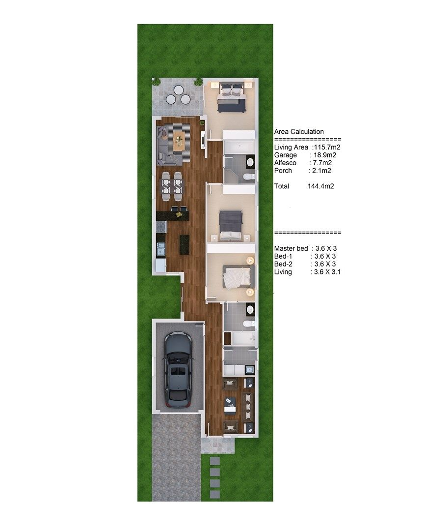 LOT 1634 MIMOSA ST, Gregory Hills NSW 2557, Image 1