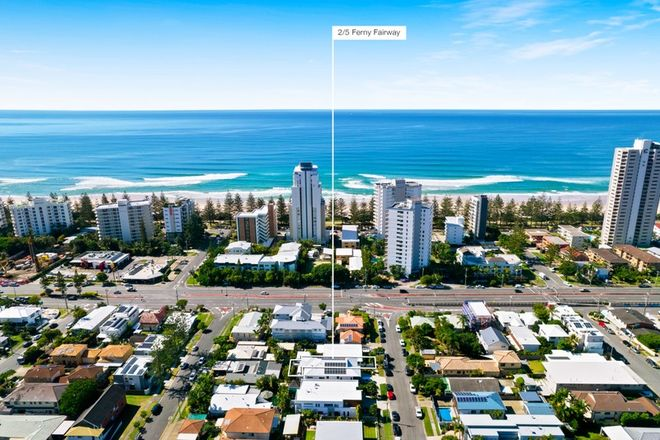 Picture of 2/5 Ferny Fairway, BURLEIGH HEADS QLD 4220