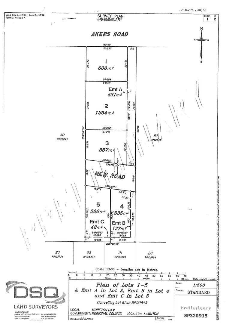 Lots1,3,4 & 5 19 Akers Road, Lawnton QLD 4501, Image 1