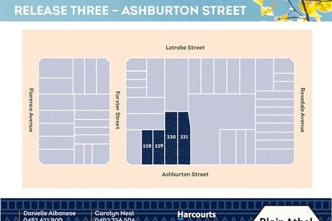 Picture of Lot 228-231 Ashburton Street, BLAIR ATHOL SA 5084